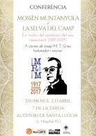 Conferència sobre Mn Ramon Muntanyola